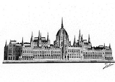 Hungarian Parliament Print by Joker Gallery
