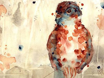 Hunter Print by Dawn Derman