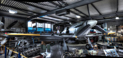 Cockpit Photograph - Hurricane Plane by Ian Hufton