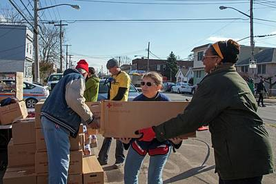 Hurricane Sandy Photograph - Hurricane Sandy Disaster Relief by Jim West