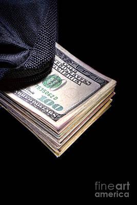 Corruption Photograph - Hush Money by Olivier Le Queinec