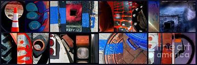 Pylon Painting - Hybrid Heaven by Marlene Burns