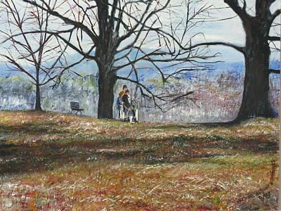 Hyde Park Ny Original by Michael Anthony Edwards