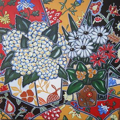 Hydrangeas Original by Brooke Baxter Howie