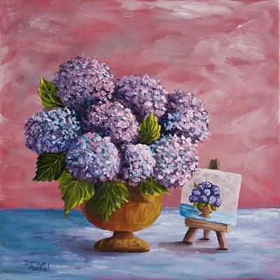 Hydrangeas From My Garden Original by Darice Machel McGuire