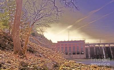 Hydro Electric Dam  N Print by Kristine Nora