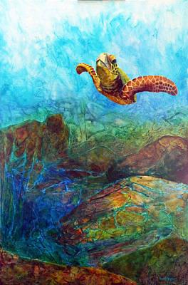 Painting - Hydrodynamics by David  Maynard