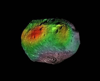 Mosaic Photograph - Hydrogen On Vesta by Nasa/jpl-caltech/ucla/psi/mps/dlr/ida