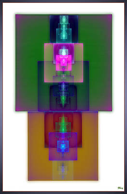 Microchip Digital Art - Hyperscalar by Brian Kenney