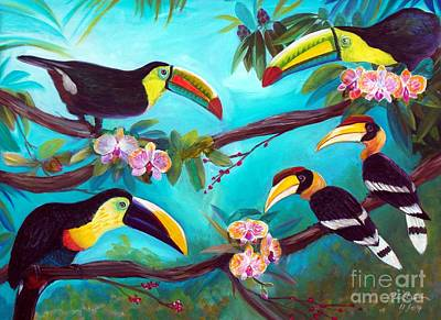 I Am A Toucan Too Original by To-Tam Gerwe