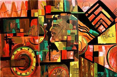 I Am Digital Art - I Am by Anthony Falbo