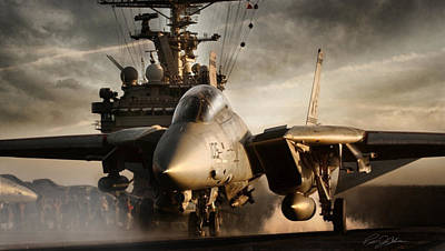 Gypsy Digital Art - I Am Legend F-14 by Peter Chilelli