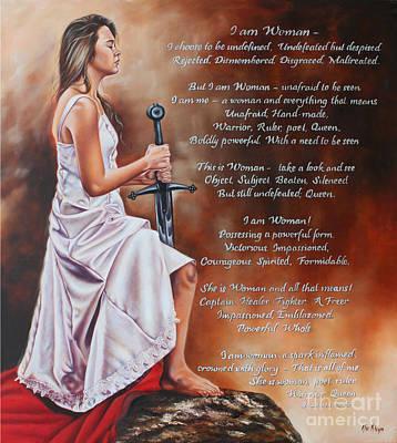 Painting - I Am Woman by Ilse Kleyn
