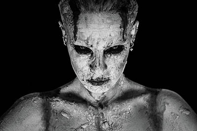 Paint Photograph - I Am Your Queen by Marco De Waal