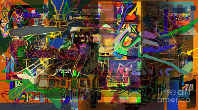 Integration Of Personality. Subconscious Digital Art - I Believe In The Coming Of Mashiach 31 by David Baruch Wolk