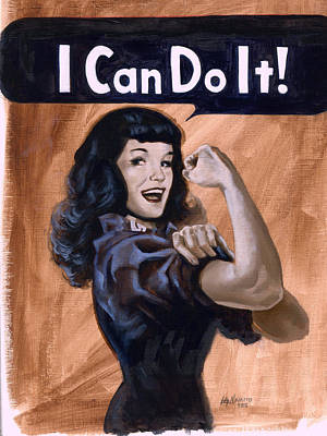 I  Can Do It Original by Luis  Navarro