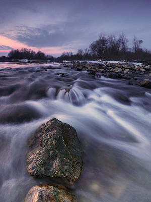 I Follow River Print by Davorin Mance