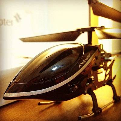 Helicopter Photograph - I-helicopter Fun! #helicopter by Guillermo Santangelo