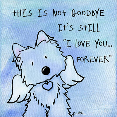 Kim Mixed Media - I Love You Forever by Kim Niles