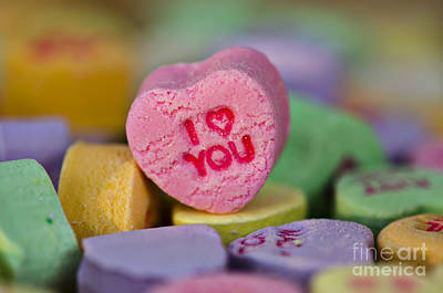 Be My Valentine Digital Art - I Love You by Nicole Markmann Nelson