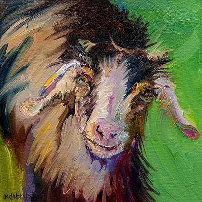 I See You Goat Original by Diane Whitehead