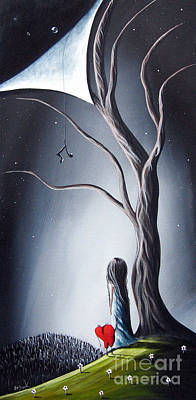 Night Painting - I Told You He Still Loves Us By Shawna Erback by Shawna Erback