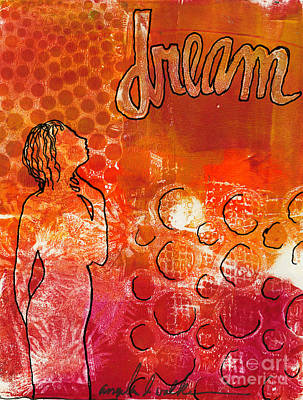 I Too Have A Dream Print by Angela L Walker