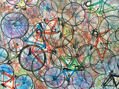 I Want To Ride My Bicycle Bicycle  Print by Scott French