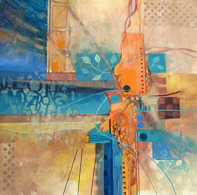Curvilinear Painting - I Will Not Make Boring Art by Patricia Mayhew Hamm