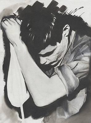 Alex Rodriguez Painting - Ian by Alex Rodriguez