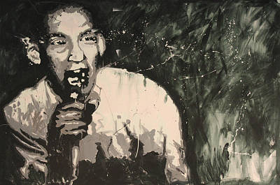 Spagnola Painting - Ian Mackaye Of Minor Threat by Dustin Spagnola