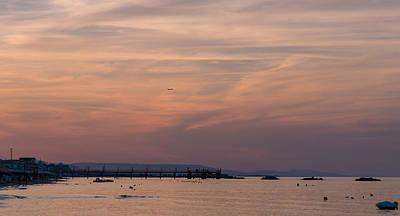 Italian Landscape Photograph - Sunset On The Beach - Icarus Dream by Andrea Mazzocchetti