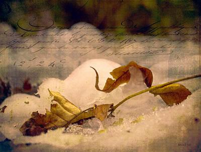 Fantasy Tree Mixed Media - Ice Cap Story by Bellesouth Studio