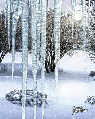 Ice Capades Print by Doug Kreuger