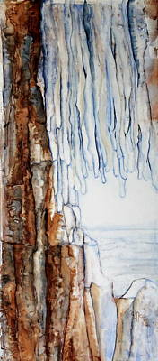 Ice Cave Original by Joan Nee