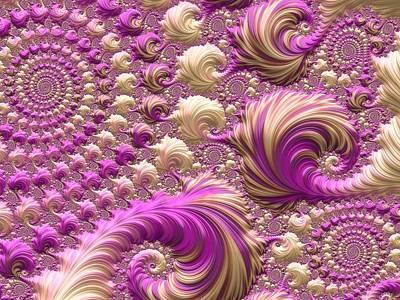 Strawberry Sundae Digital Art - Ice Cream Social by Susan Maxwell Schmidt