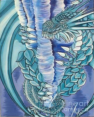 Ice Dungeon Dragon Original by Jin Kai