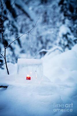 Ice Lantern Print by Kati Molin