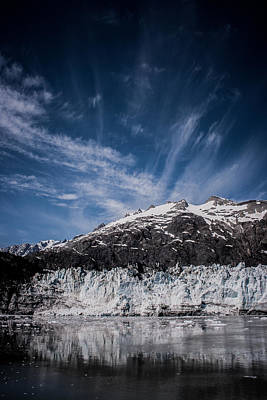 Ice Sky Water Print by Dayne Reast