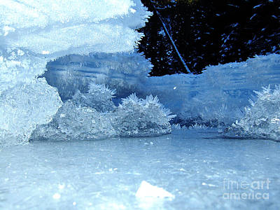 Winter Photograph - Ice World by Fabian Roessler