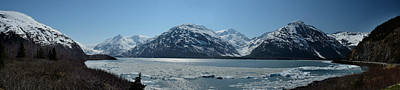 Iced In At Portage Lake Original by William Fields