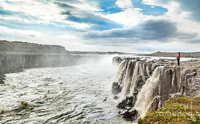 Dettifoss Photograph - Iceland by JR Photography