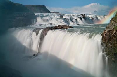 Iceland The Hvita River Roars Print by Jaynes Gallery
