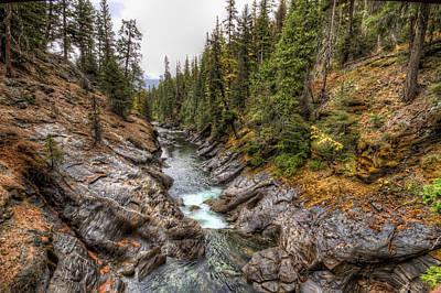Granger Photograph - Icicle Gorge by Brad Granger