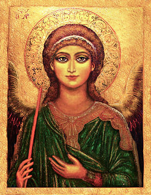 Icon Angel Print by Ananda Vdovic