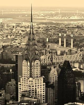 Manhattan Photograph - Iconic Chrysler Building by David Lobos