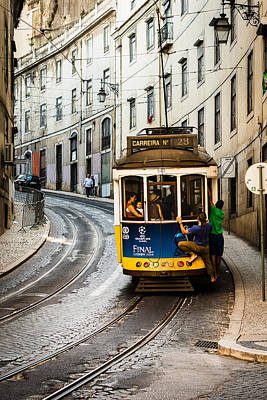 Iconic Lisbon Streetcar No. 28 I Print by Marco Oliveira