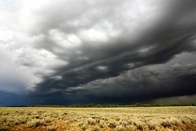 Idaho Thunderstorm Print by Amanda Stadther