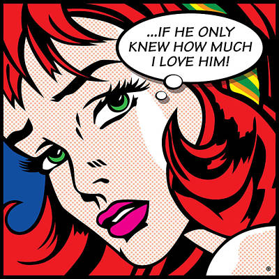 If He Only Knew Print by Gary Grayson