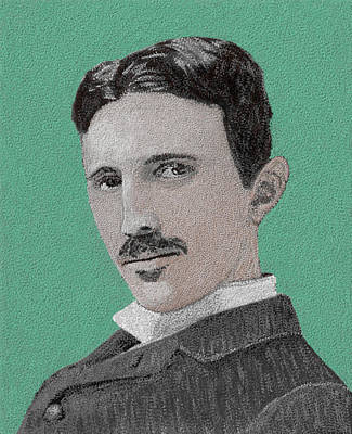 If You Could Read My Mind...tesla Print by GCannon